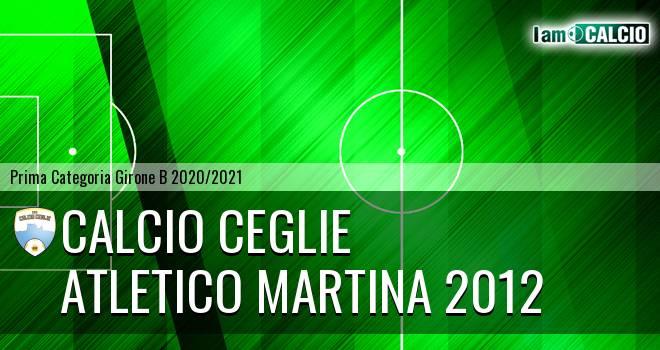 Calcio Ceglie - Atletico Martina 2012