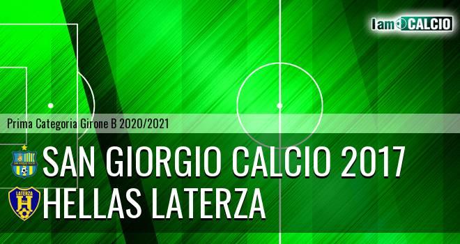 San Giorgio Calcio 2017 - Hellas Laterza