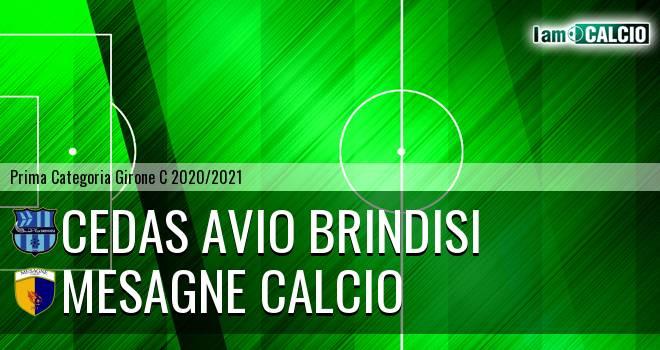 Cedas Avio Brindisi - Mesagne Calcio