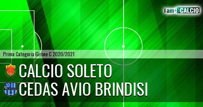 Calcio Soleto - Cedas Avio Brindisi