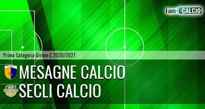 Mesagne Calcio - Secli Calcio
