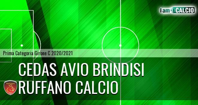 Cedas Avio Brindisi - Ruffano Calcio