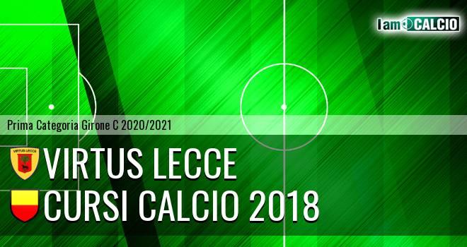 Virtus Lecce - Cursi Calcio 2018