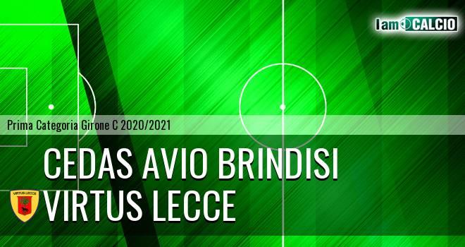 Cedas Avio Brindisi - Virtus Lecce