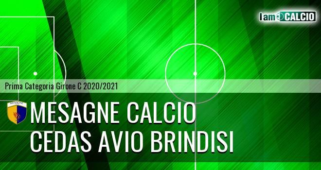 Mesagne Calcio - Cedas Avio Brindisi