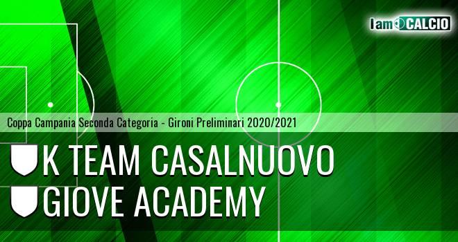 K Team Casalnuovo - Giove Academy