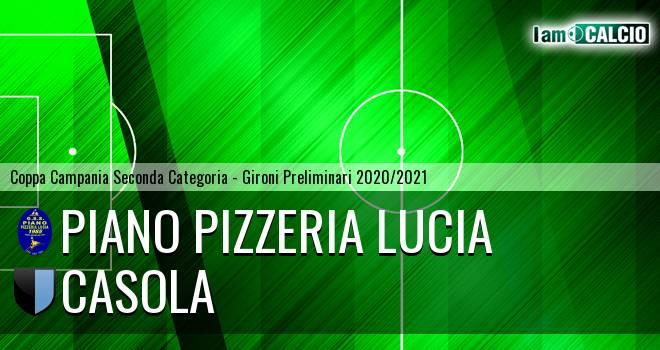 Piano Pizzeria Lucia - Casola