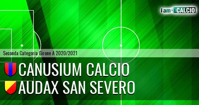 Canusium Calcio - Audax San Severo