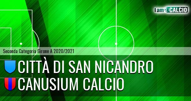 Città di San Nicandro - Canusium Calcio