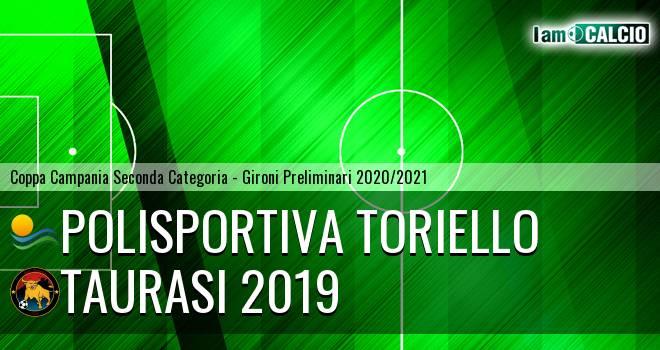 Polisportiva Toriello - Taurasi 2019