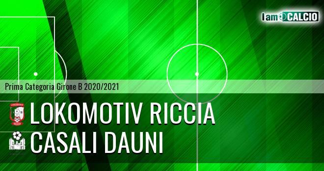 Lokomotiv Riccia - Casali Dauni