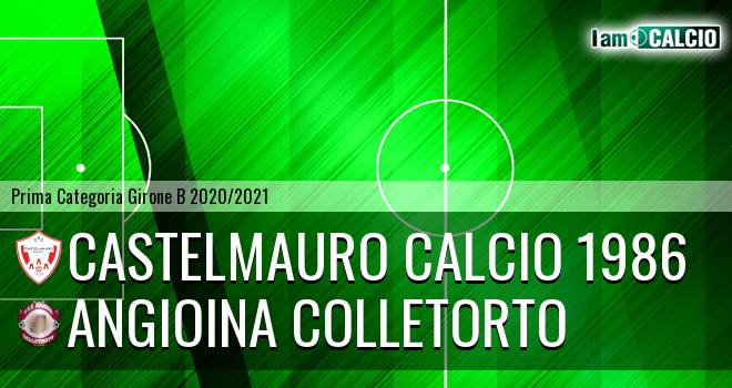 Castelmauro Calcio 1986 - Angioina Colletorto