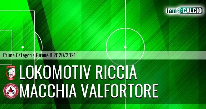 Lokomotiv Riccia - Macchia Valfortore