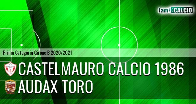 Castelmauro Calcio 1986 - Audax Toro