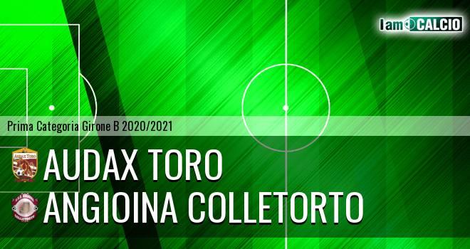Audax Toro - Angioina Colletorto