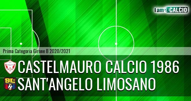 Castelmauro Calcio 1986 - Sant'Angelo Limosano