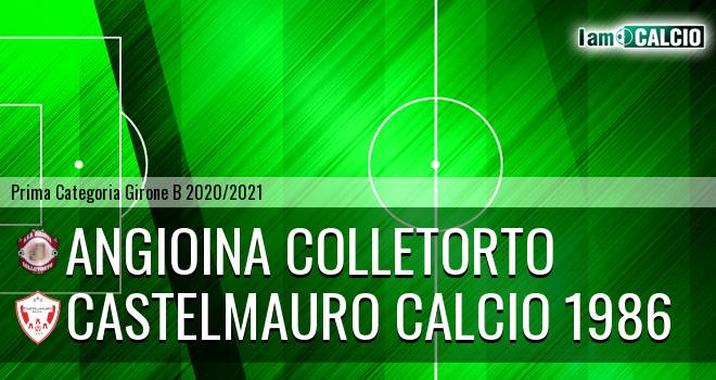 Angioina Colletorto - Castelmauro Calcio 1986