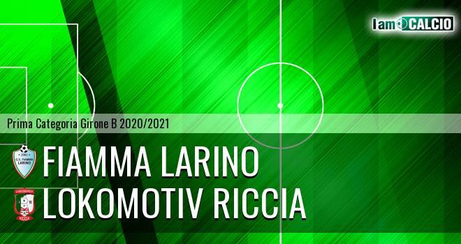 Fiamma Larino - Lokomotiv Riccia