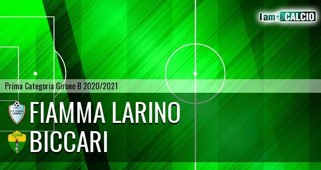Fiamma Larino - Biccari