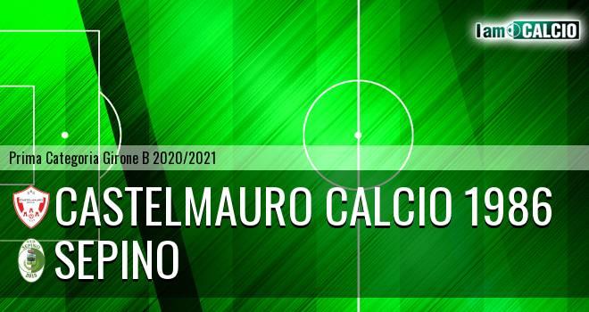 Castelmauro Calcio 1986 - Sepino