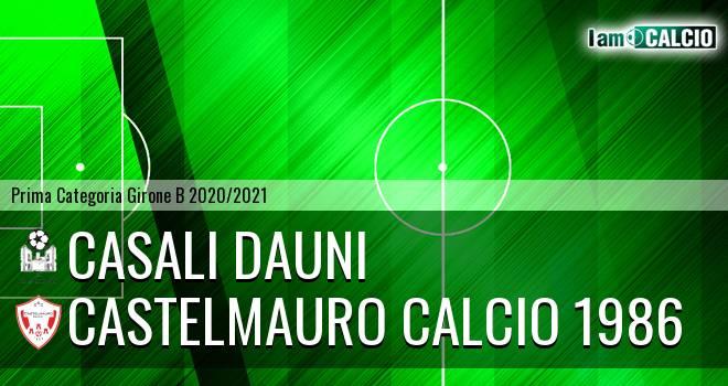 Casali Dauni - Castelmauro Calcio 1986