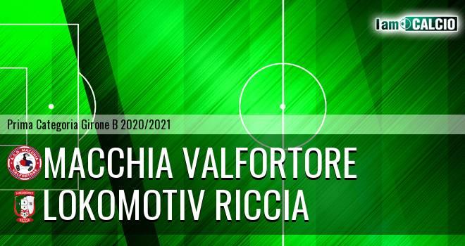 Macchia Valfortore - Lokomotiv Riccia
