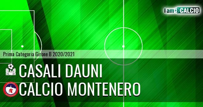 Casali Dauni - Calcio Montenero