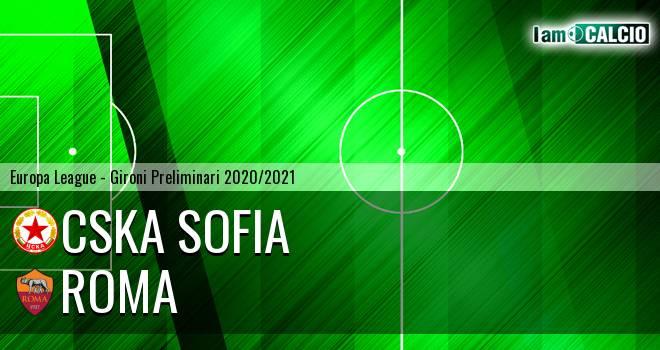 CSKA Sofia - Roma