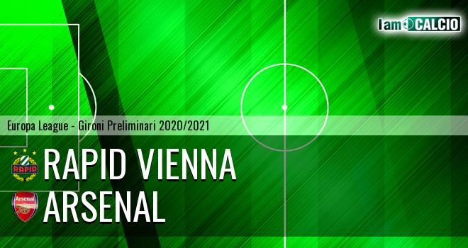 Rapid Vienna - Arsenal
