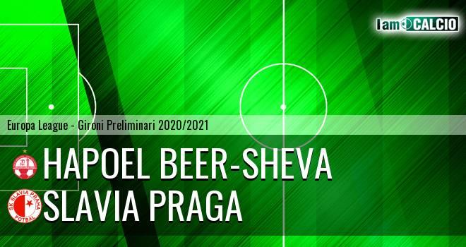 Hapoel Beer-Sheva - Slavia Praga