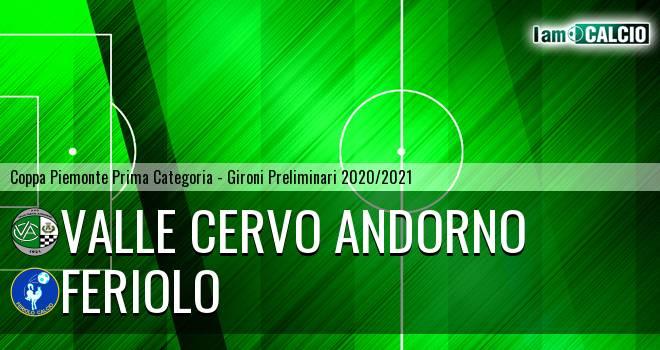 Valle Cervo Andorno - Feriolo