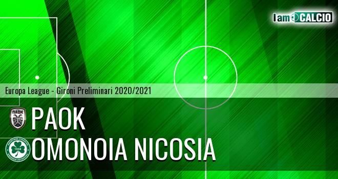 PAOK - Omonia Nicosia