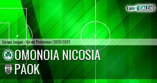 Omonia Nicosia - PAOK