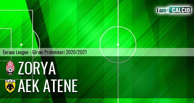 Zorya - AEK Atene