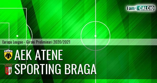 AEK Atene - Sporting Braga