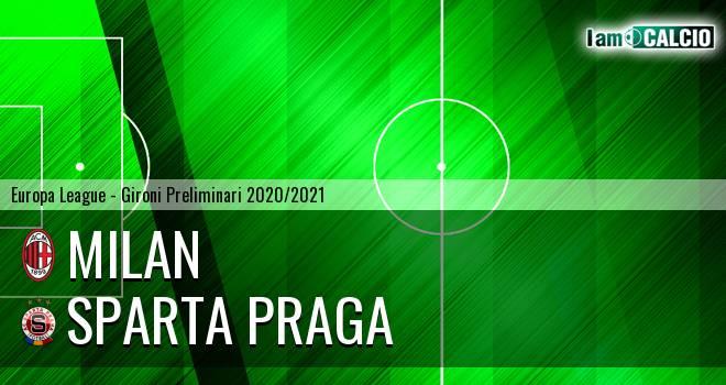 Milan - Sparta Praga