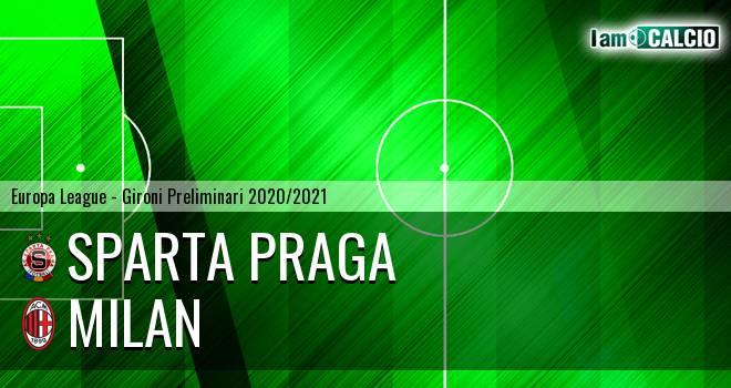 Sparta Praga - Milan