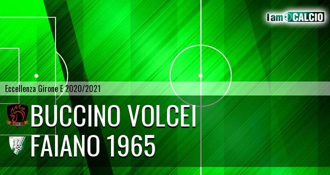 Buccino Volcei - Faiano 1965
