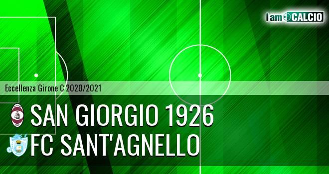 San Giorgio 1926 - FC Sant'Agnello