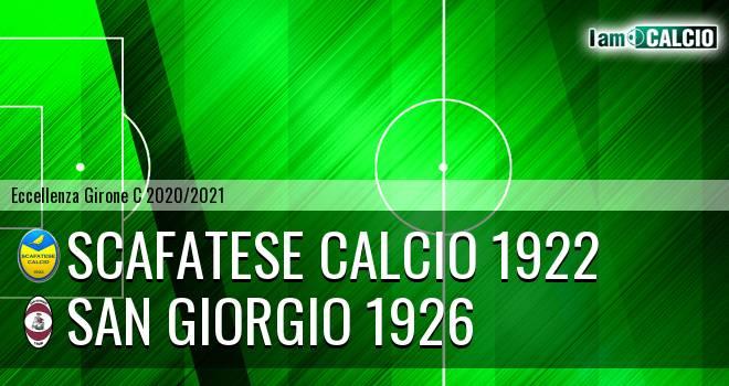 Scafatese Calcio 1922 - San Giorgio 1926