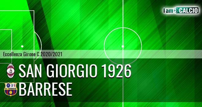 San Giorgio 1926 - Barrese