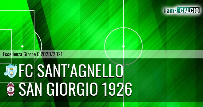 FC Sant'Agnello - San Giorgio 1926