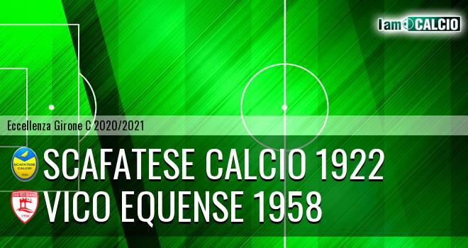 Scafatese Calcio 1922 - Vico Equense 1958