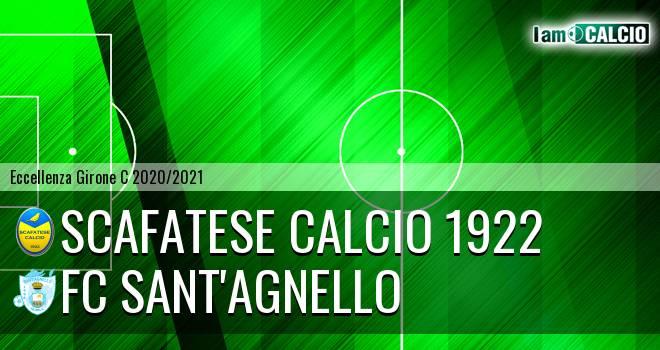 Scafatese Calcio 1922 - FC Sant'Agnello