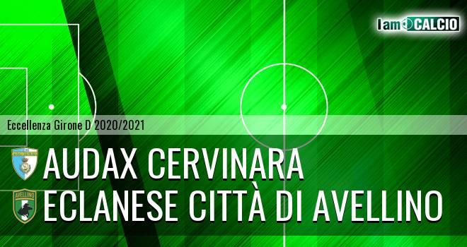 Audax Cervinara - Eclanese Città di Avellino