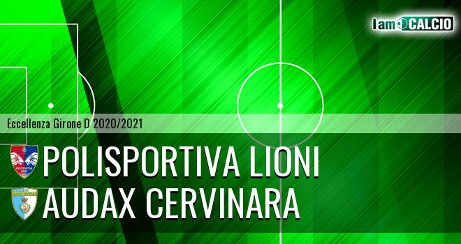 Polisportiva Lioni - Audax Cervinara