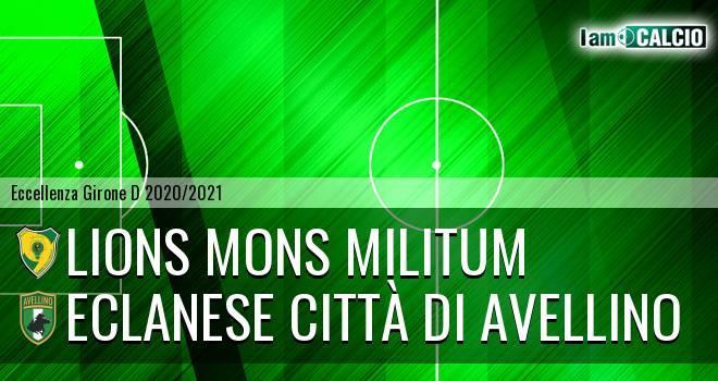 Lions Mons Militum - Eclanese Città di Avellino