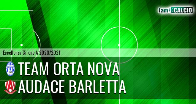 Team Orta Nova - Audace Barletta