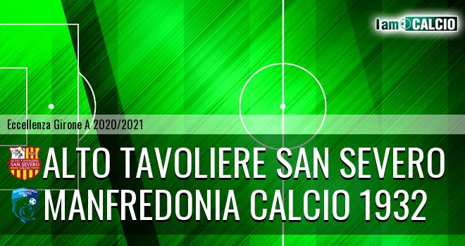 San Severo Calcio - Manfredonia Calcio 1932
