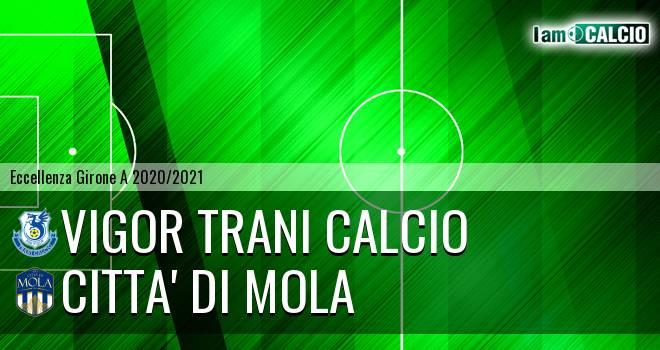 Vigor Trani Calcio - Citta' di Mola